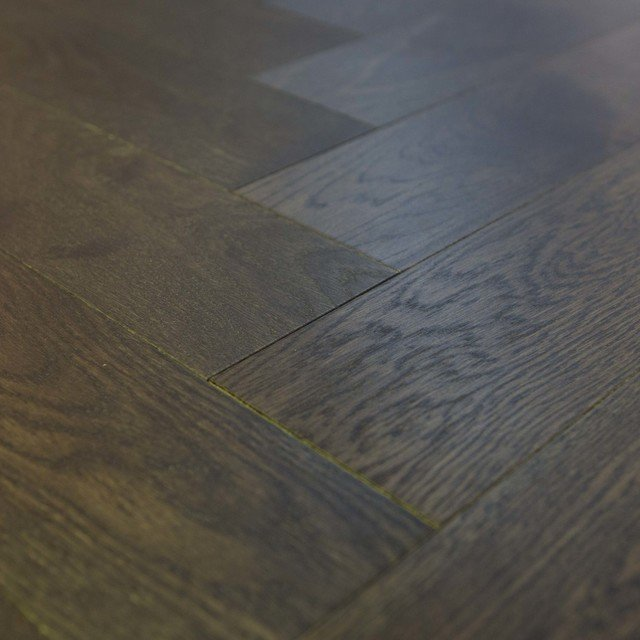 Engineered Wenge Oak Herringbone