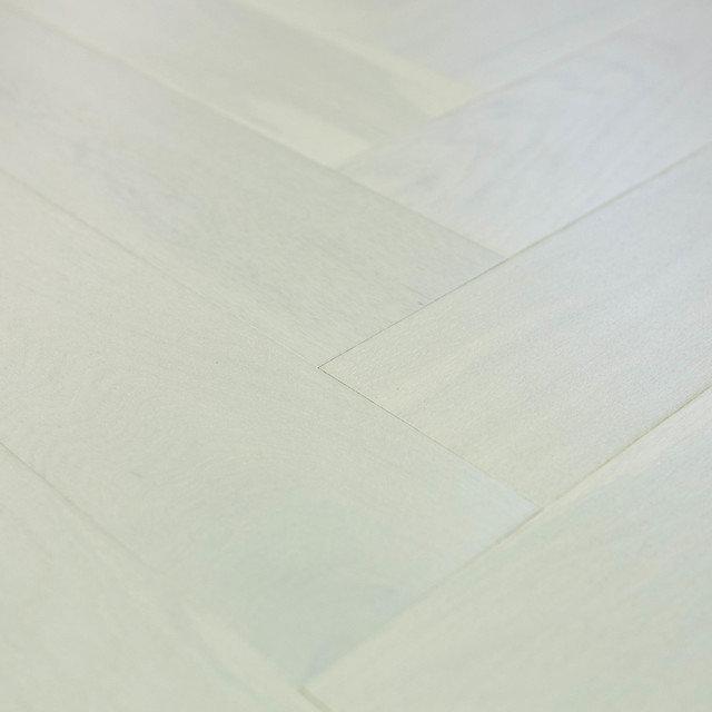 Engineered Polar White Herringbone, White Herringbone Laminate Flooring