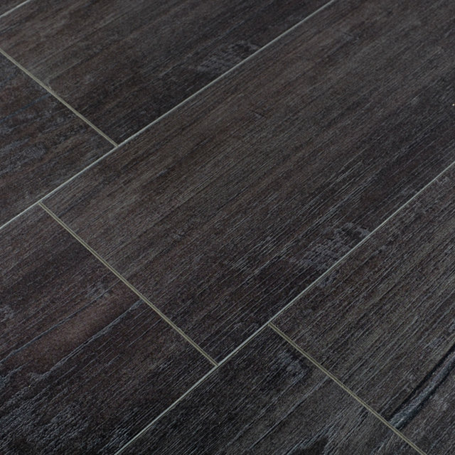 Kronotex Exquisit 8mm Nostalgia Teak Graphite 4V Laminate Flooring