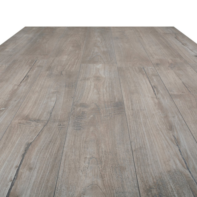 Kronotex Exquisit 8mm Nostalgia Teak Silver 4V Laminate Flooring