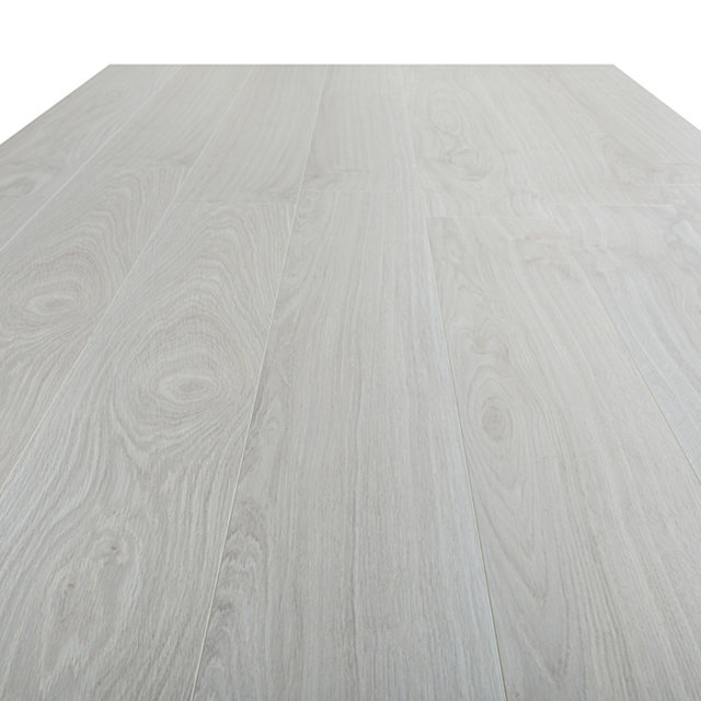 Kronotex Exquisit 8mm Waveless Oak White 4V Laminate Flooring