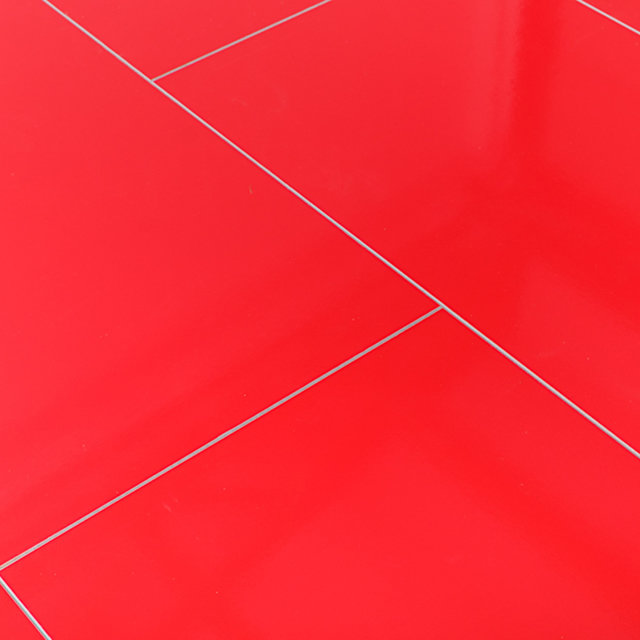 Kronotex Glamour 8mm High Gloss Tile Red 4V by Falquon Laminate Flooring