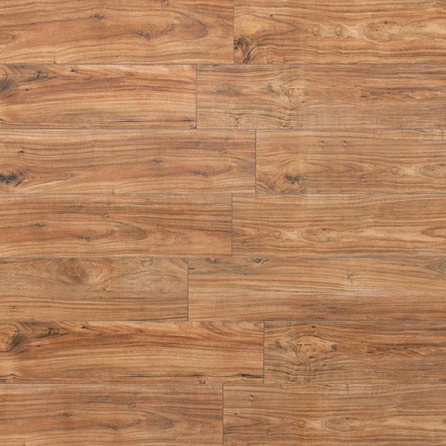 Kronotex Glamour High Gloss 8mm Morris Walnut 4V by Falquon Laminate Flooring