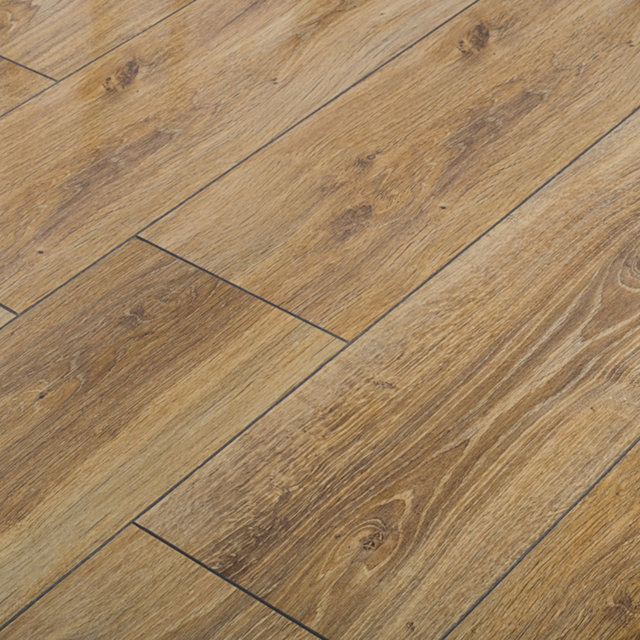 Kronotex Glamour High Gloss 8mm Victorian Oak 4V by Falquon Laminate Flooring