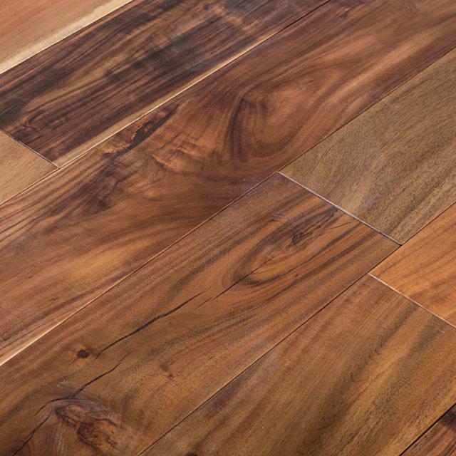 Buy acacia solid hardwood flooring 18mm x 122mm online for Buy unfinished hardwood flooring