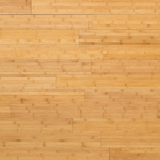 Solid Bamboo Carbonized Hardwood Flooring (Horizontal)