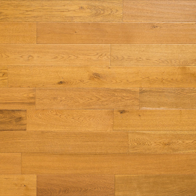 Engineered Handscraped Golden Oak Flooring