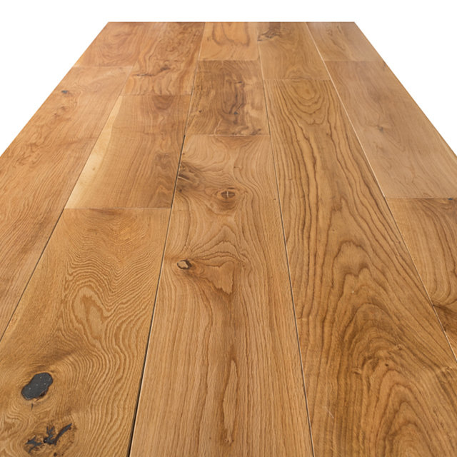 Solid Lacqured Oak Hardwood Flooring 18mmx180mm Thumbnail