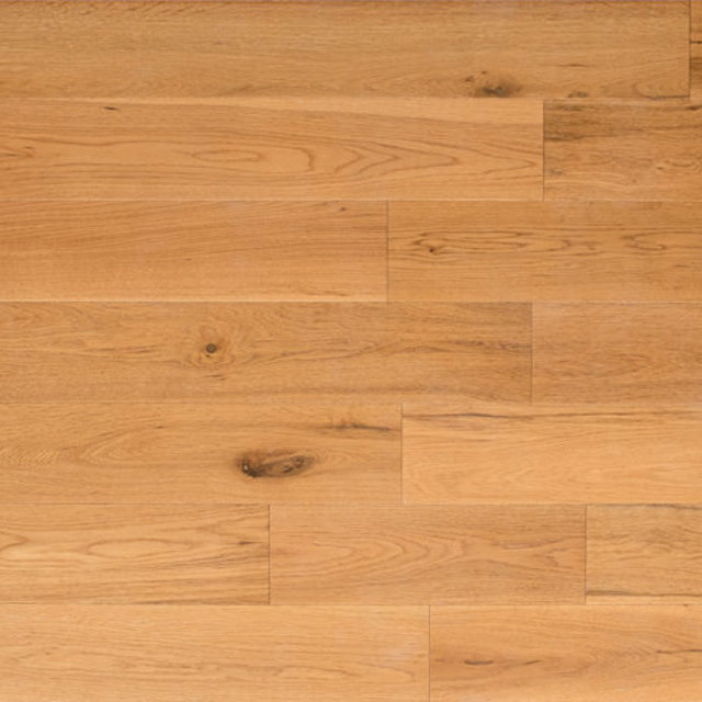 Engineered Oak, Brushed & Lacquered, Hardwood Flooring