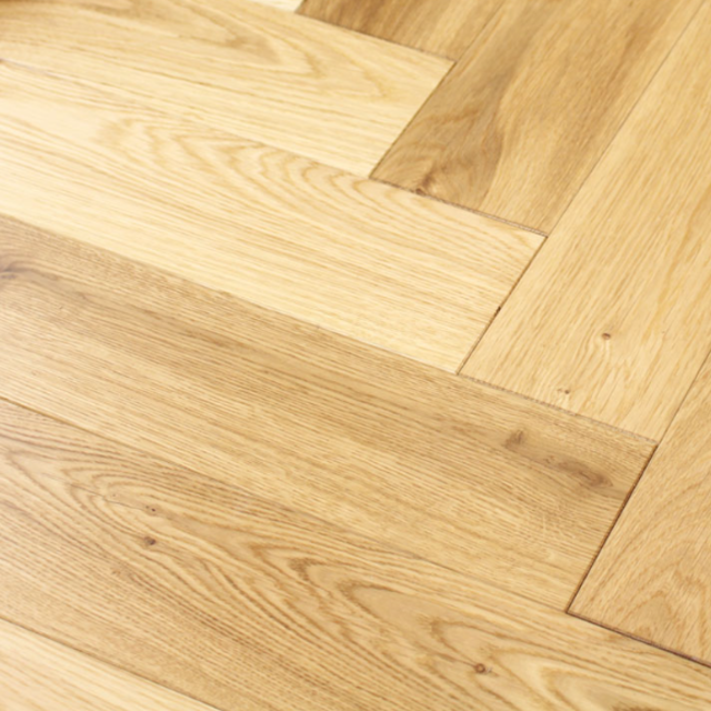 Engineered Oak Herringbone 18mm x 120mm