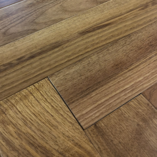 Herringbone American Walnut Engineered