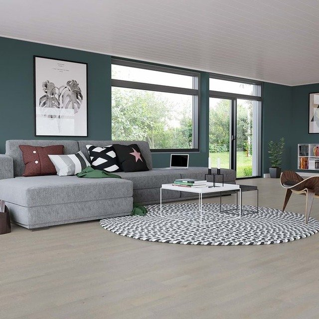Junckers Solid Oyster Grey 14mm Solid Wood Flooring