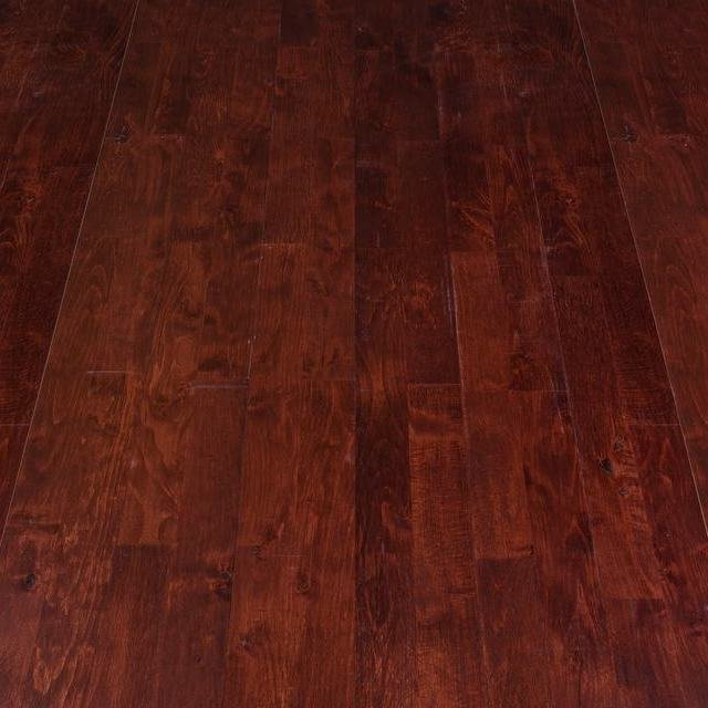 Junckers Solid Smooth Rum 14mm Solid Wood Flooring Junckers Solid