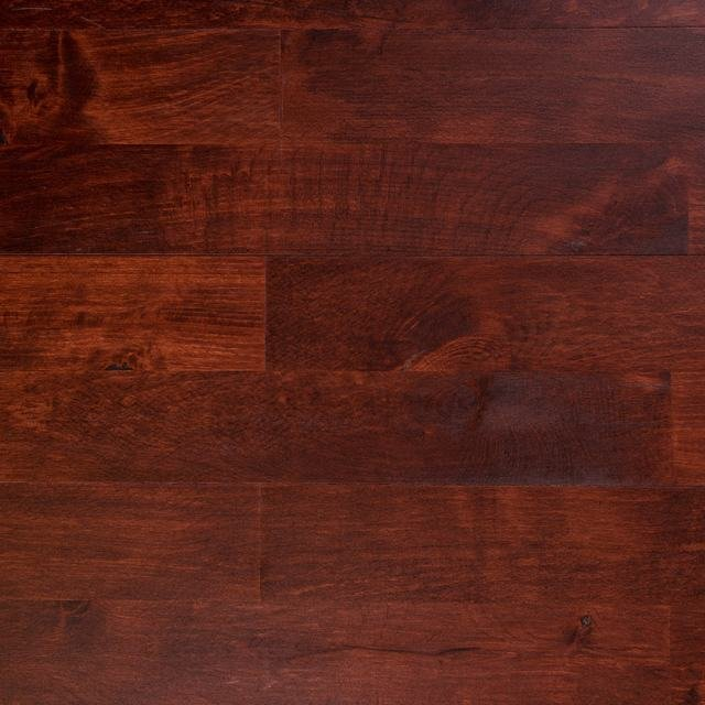 Junckers Solid Smooth Rum 14mm Solid Wood Flooring