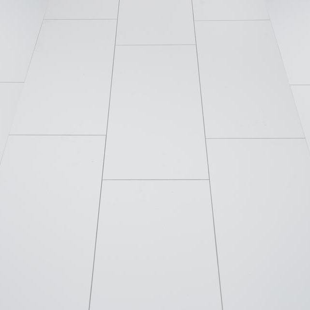Kronotex Glamour 8mm High Gloss Tile Grey 4V by Falquon Laminate Flooring