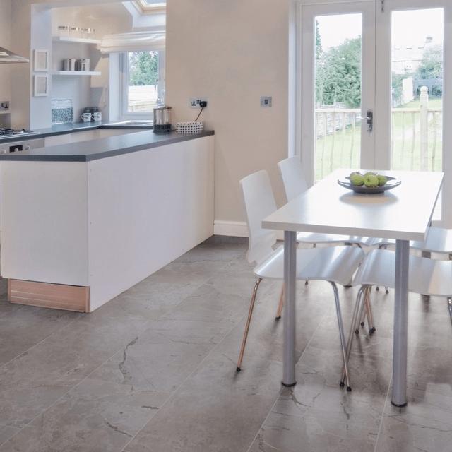 Kronotex mega plus paros tile effect laminate kronotex for Kronotex laminate flooring sale