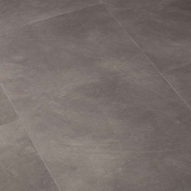 Luxury Vinyl Flint Stone Grey Tile Thumbnail