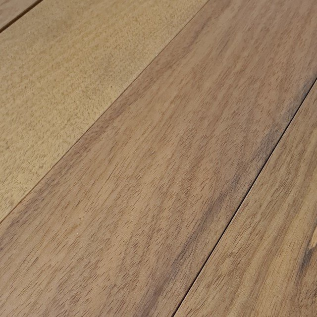 Solid Brazilian Teak 18mm x 125mm x 910mm
