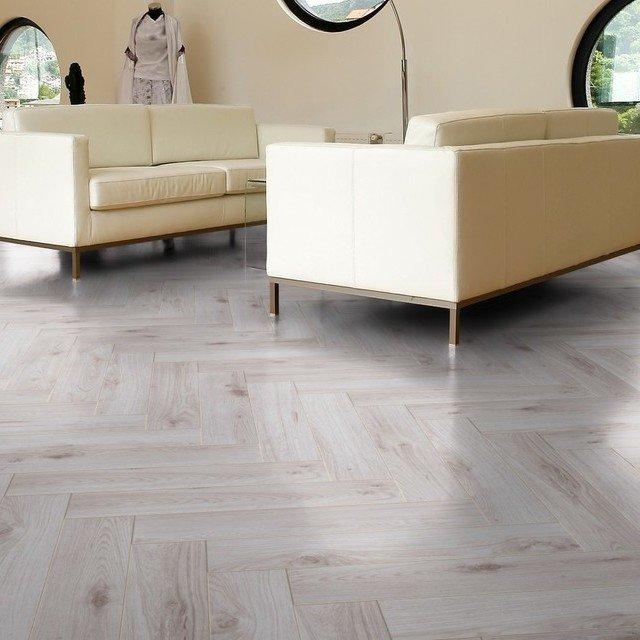 White Herringbone Laminate Flooring, White Herringbone Laminate Flooring
