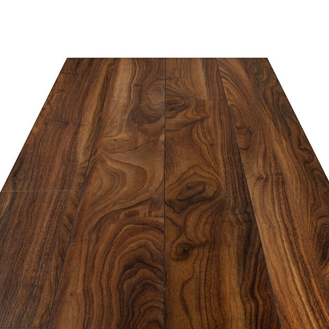 Swiss Chrome Walnut Rubio Laminate Flooring