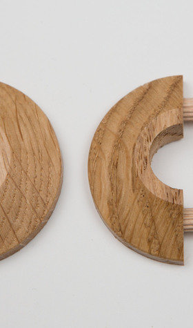 Oak 15mm Piperose 2 Pack
