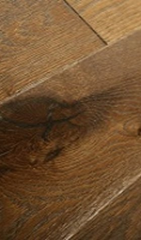 Solid Smoked Oak Hardwood Flooring, 18mmx150mm