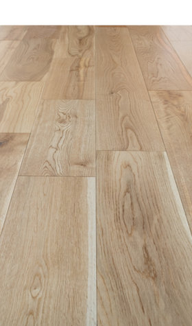 Engineered Oak Hardwood Flooring Hardwaxed 18mmx150mm