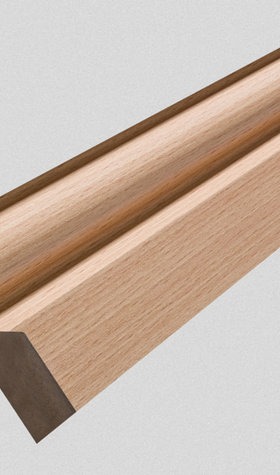 "BEECH 3"" SKIRTING/FACING 2.4M"
