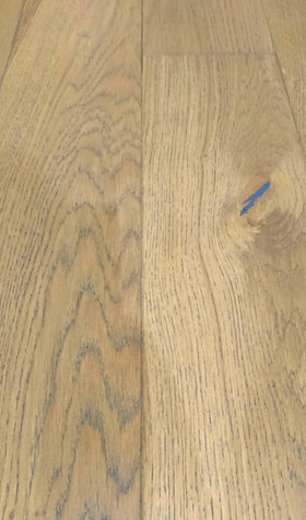 Brooklyn Solid Oak Brushed Lacquered 18mm x 125mm
