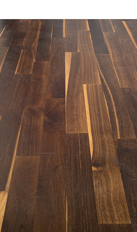 Junckers Solid Black Oak Variation 14mm Solid Wood Flooring