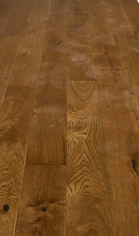 Solid Golden OakHardwood Flooring, 18mmx125mm x Random