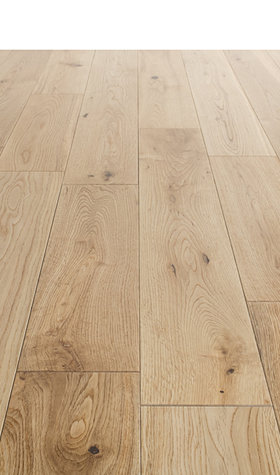 Solid Lacqured Oak Hardwood Flooring 18mmx125mm