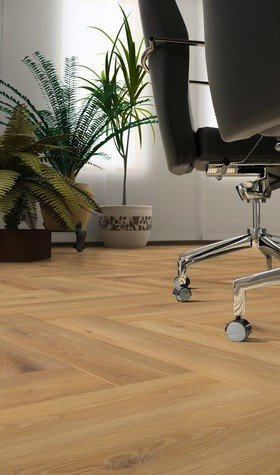 Pisa Oak Herringbone Laminate Flooring